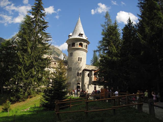 Castello di Savoia a Gressoney