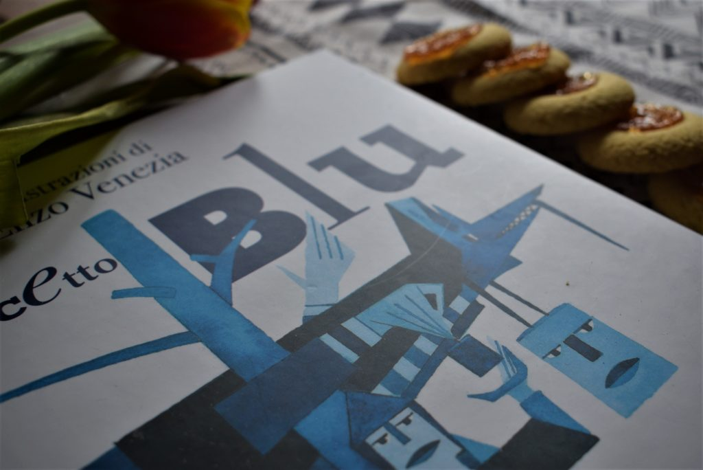 Cappuccetto blu di Iris Bonetti - Illustrazioni di Enzo Venezia - Edizioni Piuma