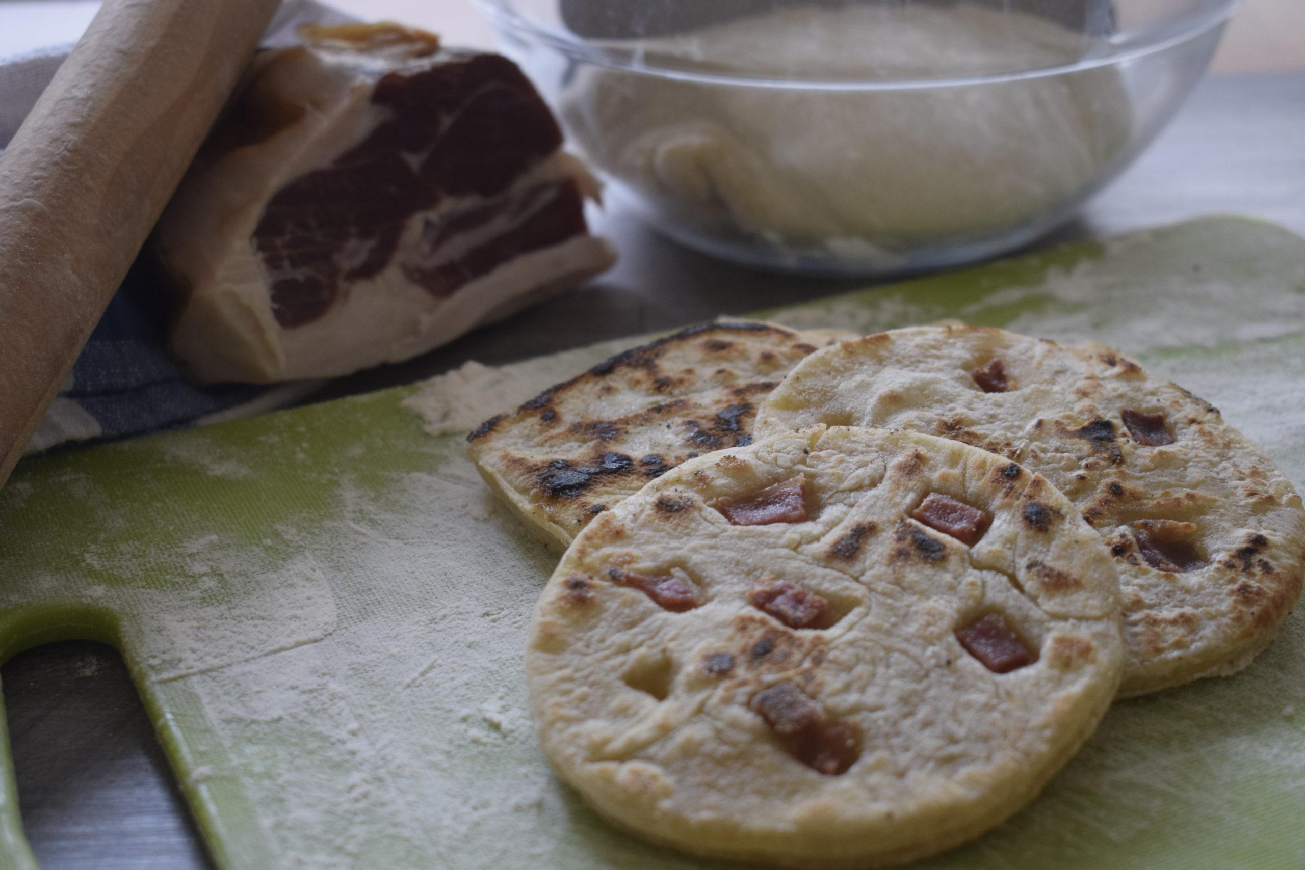 Pane azzimo al Prosciutto di Modena DOP - I Viaggi di Ciopilla