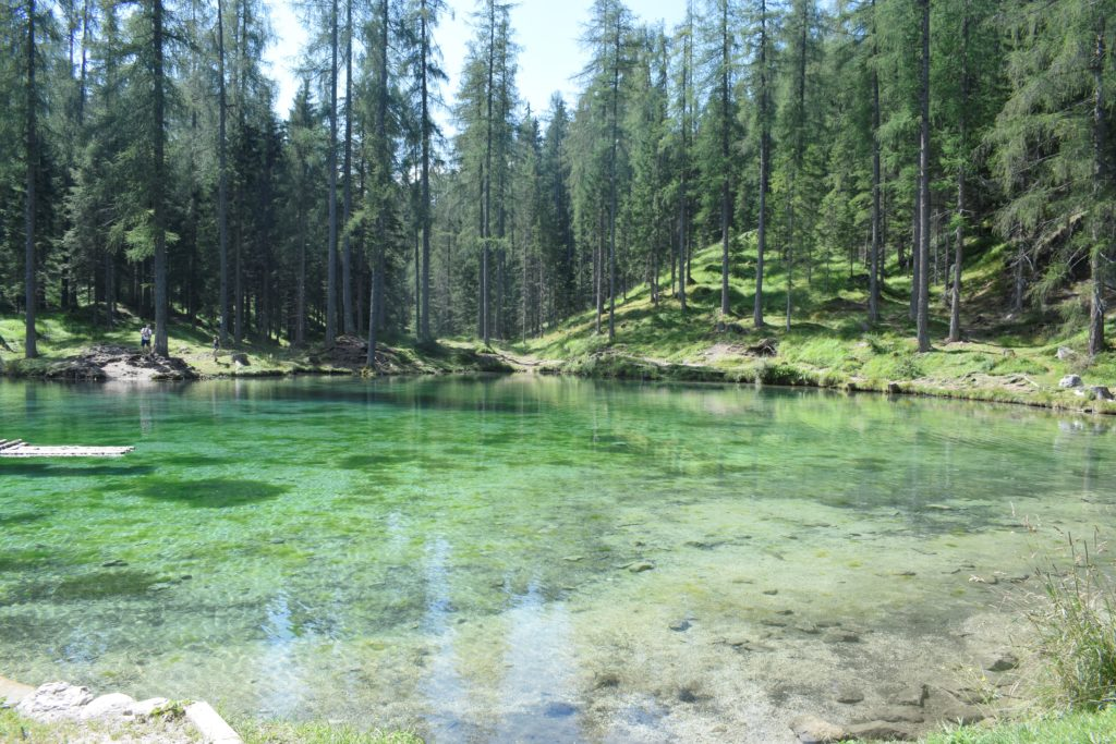 Cortina lago Ghedina