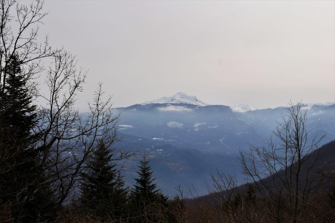 Cervarezza e il Monte Ventasso